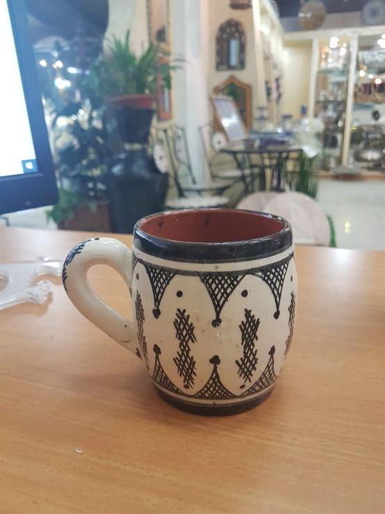 כוס פורצלן מרוקאי