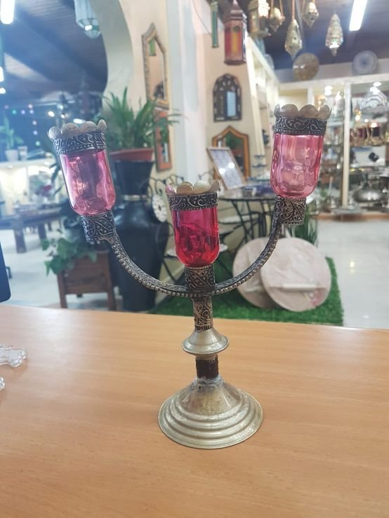 פמוט שולחן מרוקאית
