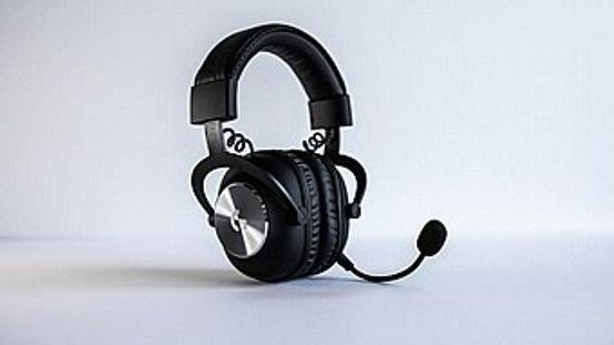 logitech G PRO X 7.1 WIRELESS Surround Gaming Headset Blue voice