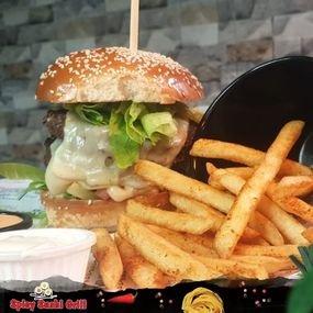 מנת המבורגר 240 גרם
