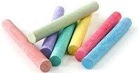 גיר צבעוני