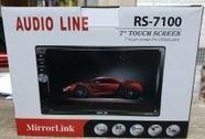 """מסך 7""""    Audio line  RS-7100"""