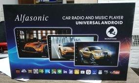"""מסך אנדאויד 7""""  Car radio and music player"""