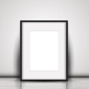 מסגרת תמונה איכותית דגם FR9093, כולל הדפסת תמונה.