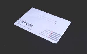 """מעטפות גודל  18/25 ס""""מ הדפסה צבע אחד אופסט."""