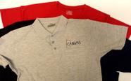 חולצות איכותיות עם תפירת לוגו, רקמה