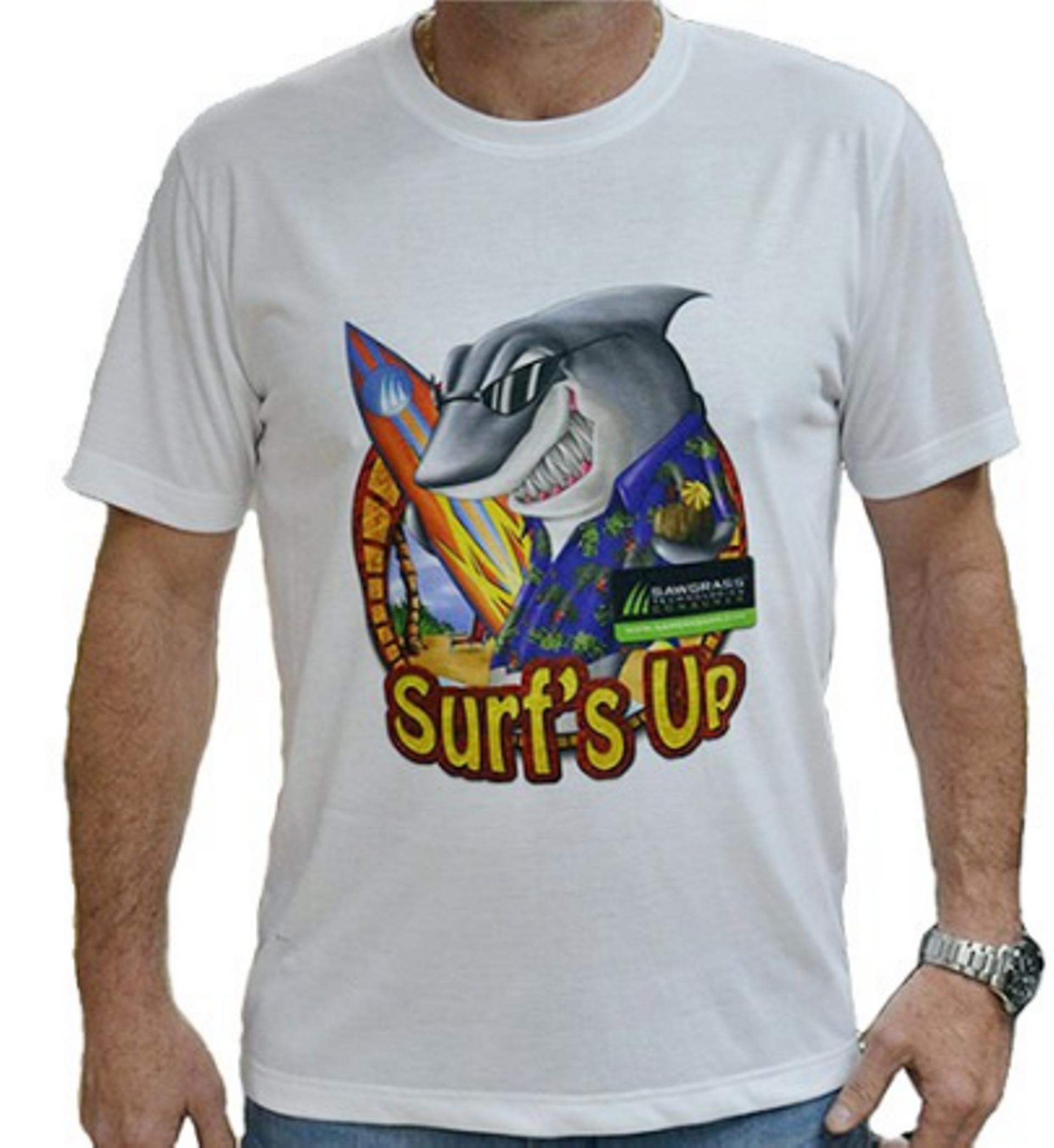חולצות דרייפיט עם הדפסת תמונה.