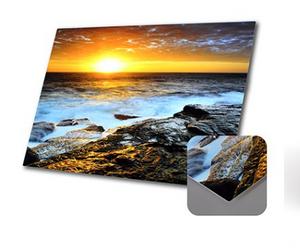"""לוח אלומיניום עובי 1.5 ממ עם פינות, איכותי עם הדפסת תמונה תוצרת ארה""""ב."""