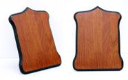 מגן הוקרה מעוצב מעץ איכותי ביותר לשולחן עם רגלית  או לתלייה דגם 453..
