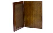 מגן הוקרה מעוצב מעץ איכותי ביותר לשולחן עם רגלית  או לתלייה דגם 450..