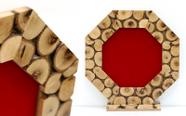מגן הוקרה מעוצב מעץ זית עבודת יד איכותי ביותר דגם 486..