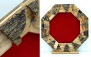 מגן הוקרה מעוצב מעץ זית עבודת יד איכותי ביותר דגם 490..