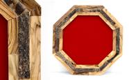 מגן הוקרה מעוצב מעץ זית עבודת יד איכותי ביותר דגם 502..