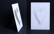 מגן  - מסגרת תמונה לשולחן, מראה תלת מימד להדפסת תמונה באיכות פוטו.