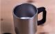 ספל לבן איכותי לשתייה חמה, נירוסטה בפנים עם הדפסת תמונה!