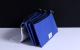 קלמר כחול איכותי 3 כיסים עם רוכסנים עם הדפסת תמונה!
