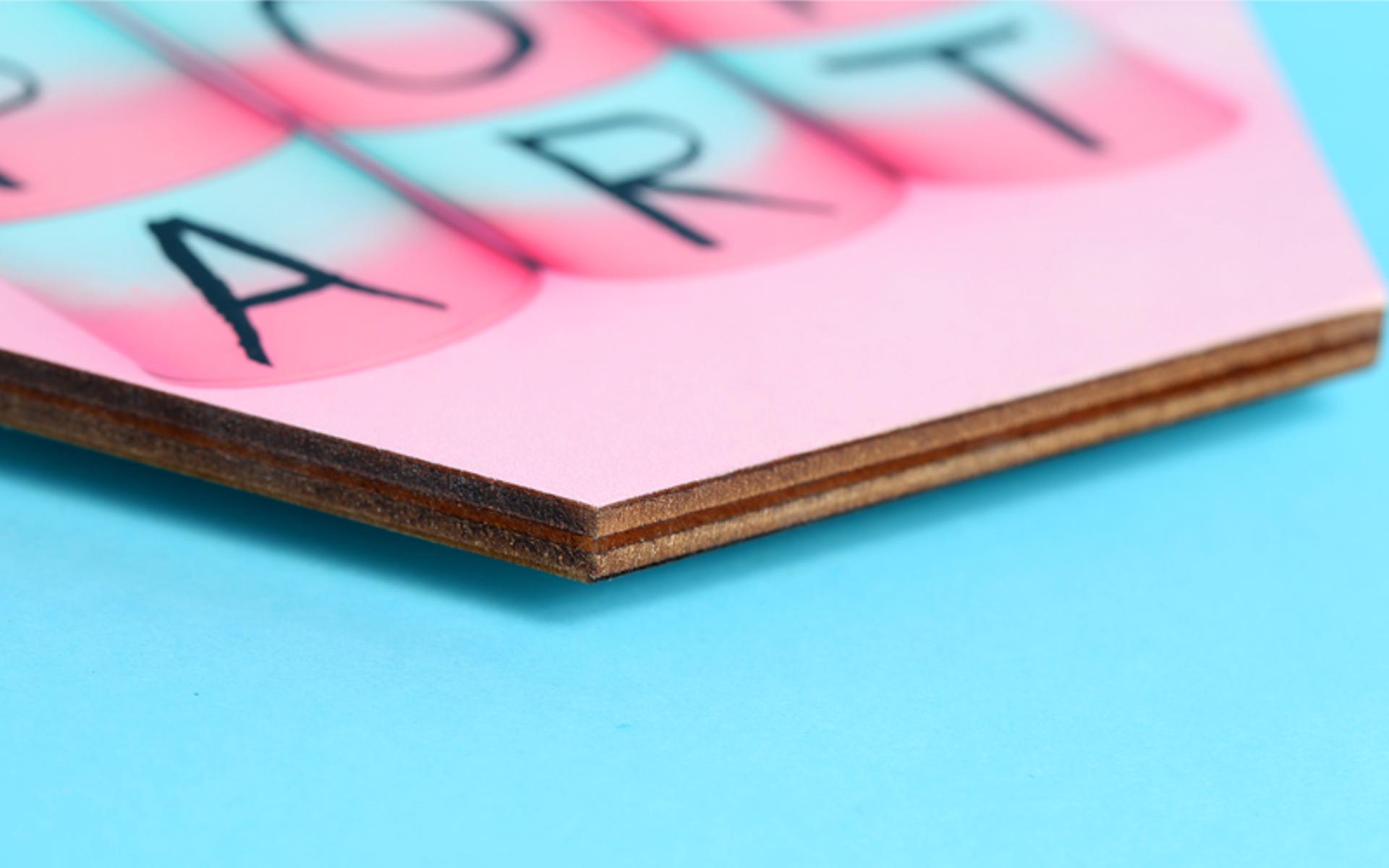 =קיר צורת משושה איכותי עם הדפסת תמונה באיכות פוטו! בגדלים שונים!