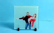 מגן איכותי פרספקס עבה מרובע, הדפסה ישירה UV עם תמונה איכותית עמוקה!