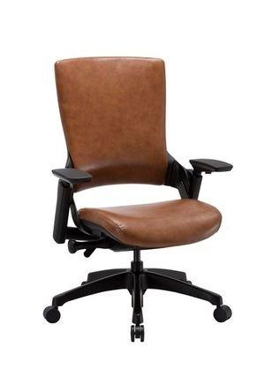 כסא מנהלים נמוך דמוי עור