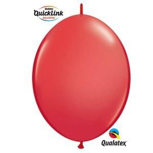 بالون ربط q6 احمر 50 قطعه