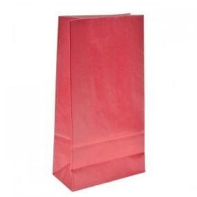 أكياس ورق احمر 6 قطع