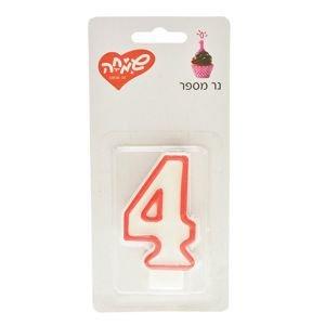 شمع رقم 4