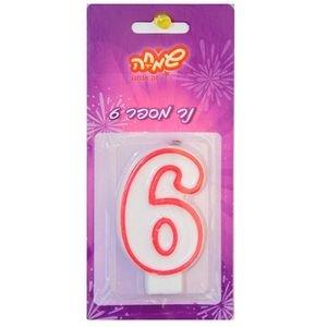 شمع رقم 6