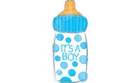 בלון מיילר 18- הולדת בן בקבוק תינוק