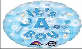 "بالون 18"" ولادة ولد -its a boy"