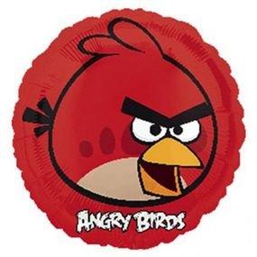 """بالون 18""""الطيور الغاضبه احمر"""