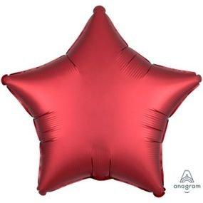 """بالون 18"""" نجمه احمر خروم"""