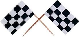 קיסם עם דגל