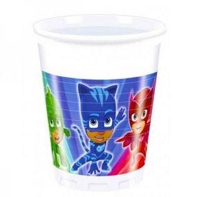 כוסות פלסטיק 200 מל 8 יחידות- כוח פי גיי