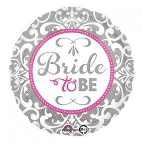 """מיילר 18"""" bride to be כסוף"""