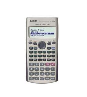 מחשבון פיננסי Casio FC-100V