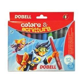 צבעי טוש איכותיים ( 12 צבעים  עבים )