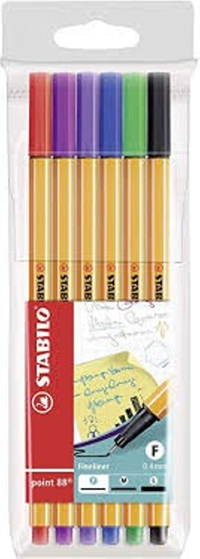 סט 6 עטים ראש לבד - סטבילו
