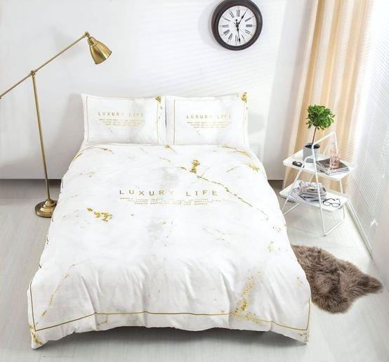 מצעים כותנה מיטה וחצי