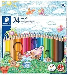 עפרונות שטדלר צבעוניים 24 עפרון