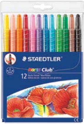 עטים מתברגים של שטדלר 12 יח' בצבעים שונים