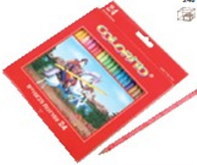 24 עפרונות צביעה קולוריטו