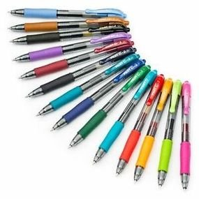 עט פילוט ג'ל לחצן G2   0.7