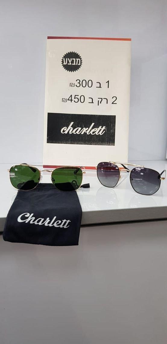 משקפי שמש charlett