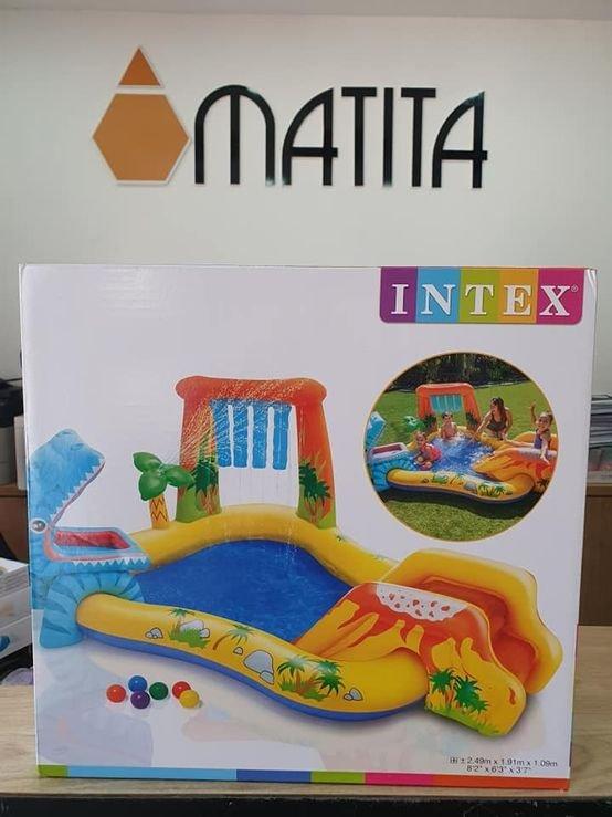 בריכת משחק דינוזאור INTEX