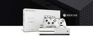 Xbox One קונסולת Xbox One S  1TB + 2 Controllers