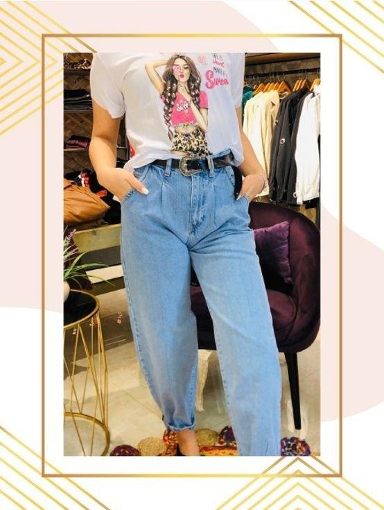 بنطلون جينز عصري لباس يومي