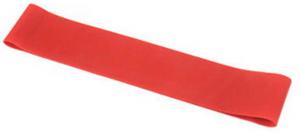 גומיית התנגדות אימון לולאה סגורה צבע אדום רמת קושי בינונית