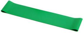 גומיית התנגדות אימון לולאה סגורה צבע ירוק רמת קושי קלה