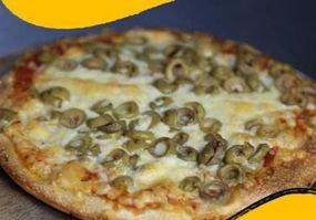 بيتزا خضار حجم صغير