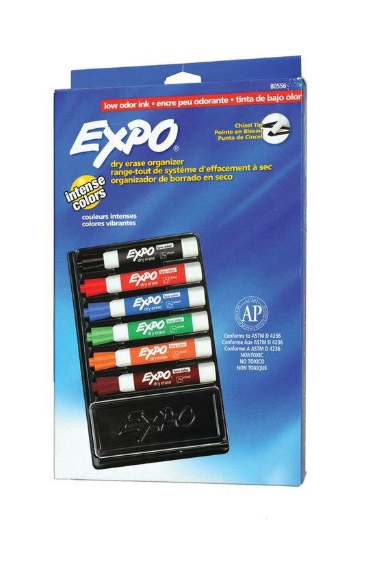 EXPO +6 مجموعة علامات + حذف علامات الممحاة